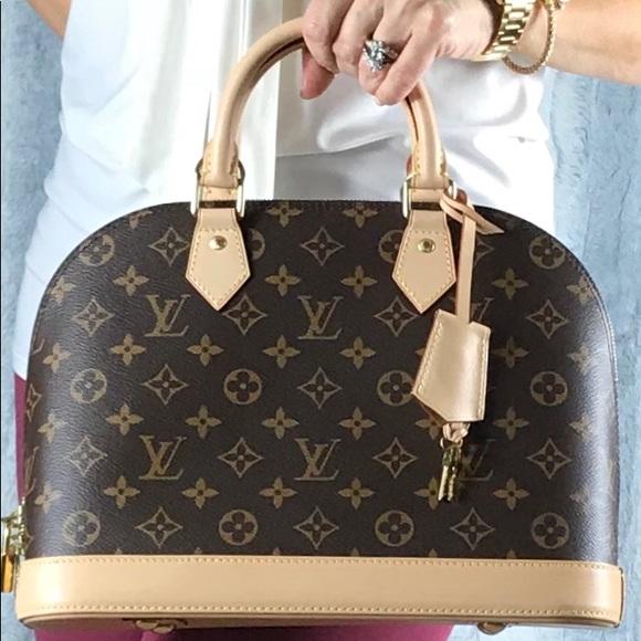 Louis Vuitton Bags Authentic Alma Pm Monogram Satchel Poshmark